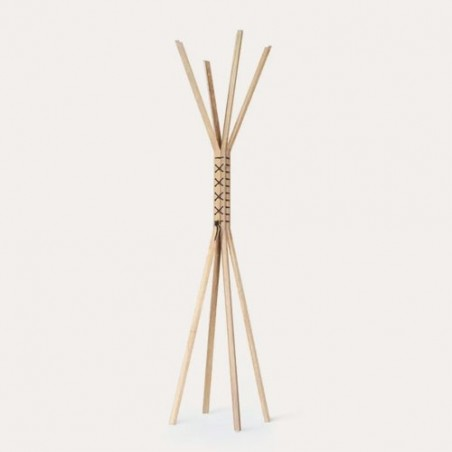Wewood Cancan coat oak stand