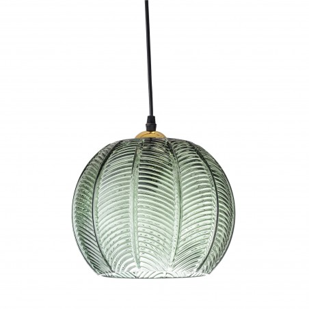 Bloomingville Green Glass Pendant Lamp