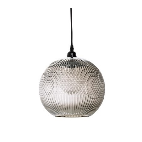Bloomingville Brown Glass Pendant Lamp