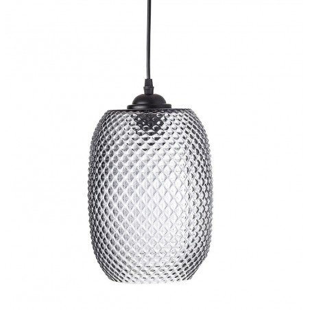 Bloomingville Grey Glass Pendant Lamp