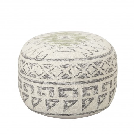 Bloomingville Terrain Pouf Grey Wool
