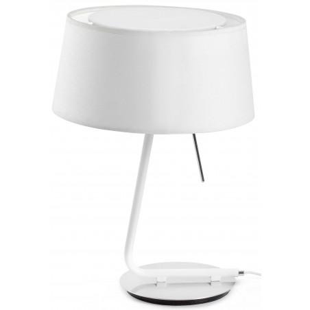 FARO Hotel White Table Lamp (ref. 29942)