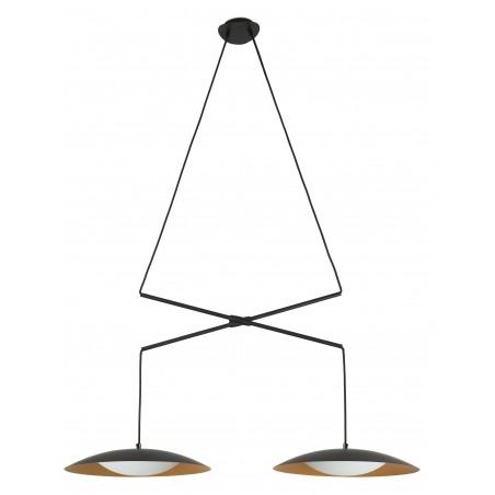 FARO Slim LED Double Extensible Pendant Lamp