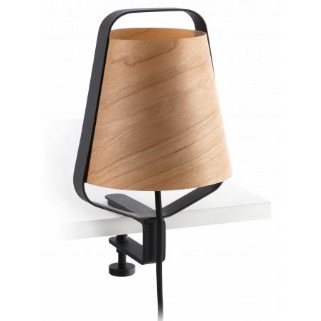 FARO Stood Black And Wood Clip Lamp (Ref.29845)