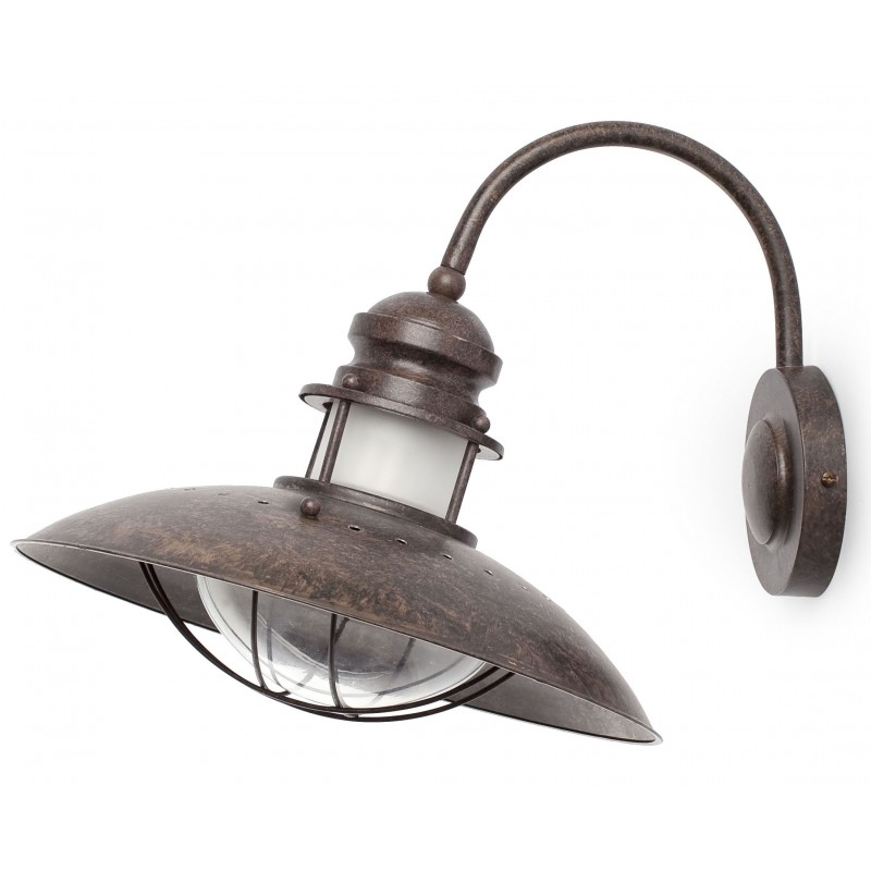FARO Winch Brown Wall Lamp