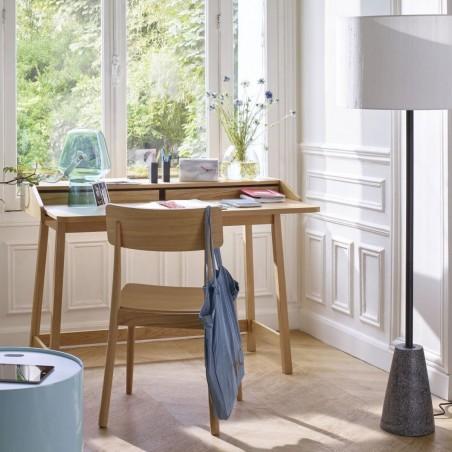 St James Compact Oak Desk | Pull-Out Surface
