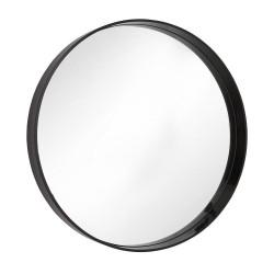 RV Astley Hearst Mirror With Black Gloss Frame