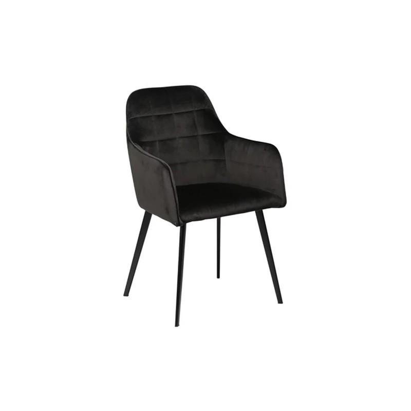 Dan-Form EMBRACE Dining Chair Meteorite Black Velvet