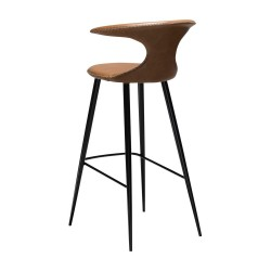 Dan-Form FLAIR bar stool light brown