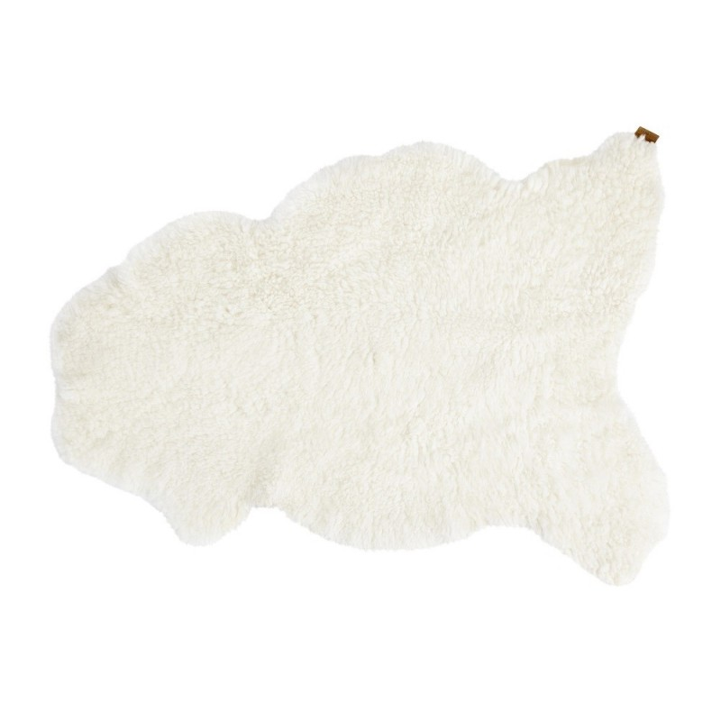 Shepherd of Sweden Stockholm Natural White Sheepskin Rug