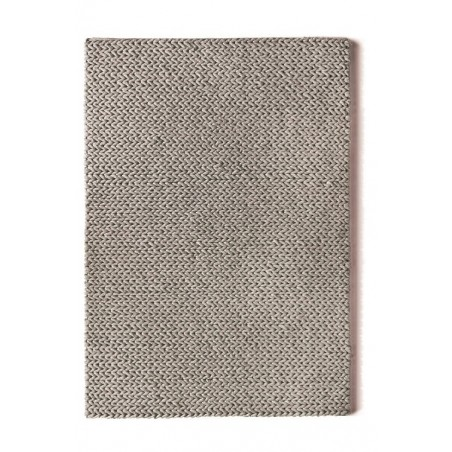 Fusion Hand Woven Wool Rug |Dove Grey
