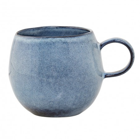 Bloomingville Stoneware Sandrine Cup  Blue Medium