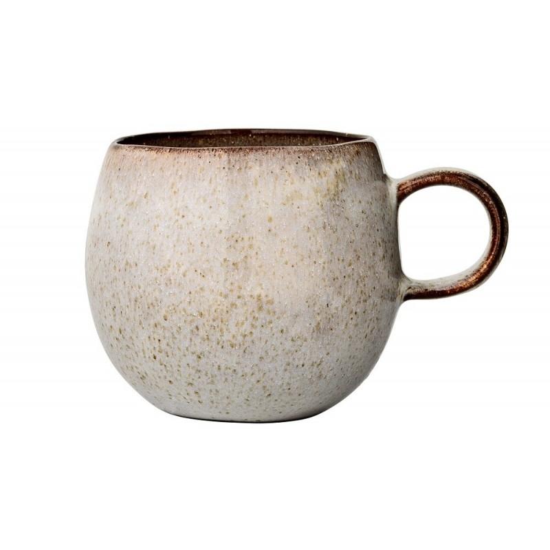 Bloomingville Stoneware Sandrine Mug |Grey