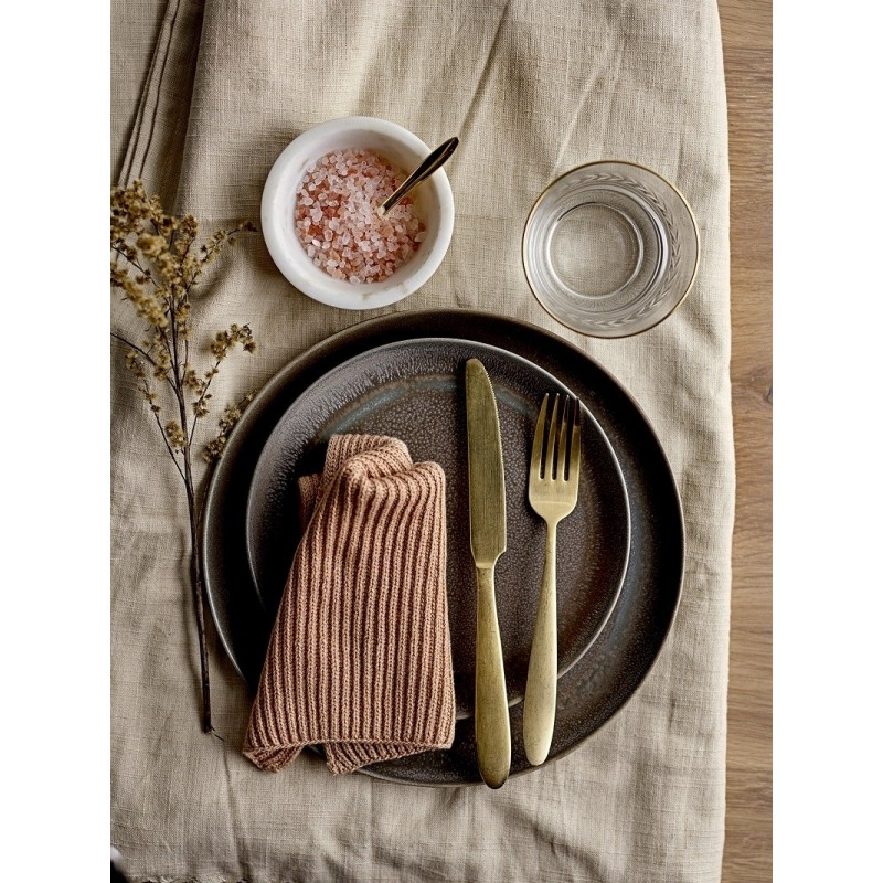 Bloomingville Gold Cutlery Set |Stainless Steel