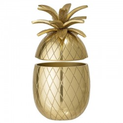 Bloomingville Ice Bucket in Gold Aluminum