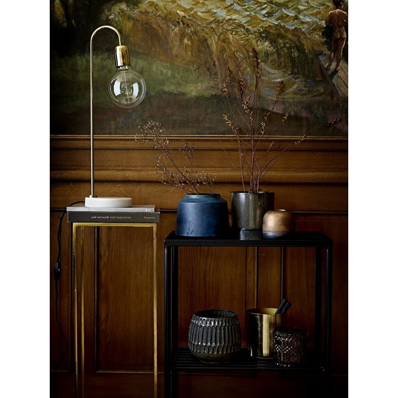 Bloomingville Gold and Marble Table Lamp