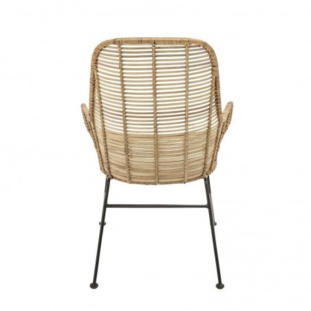 Bloomingville Lake Lounge Chair Nature Rattan