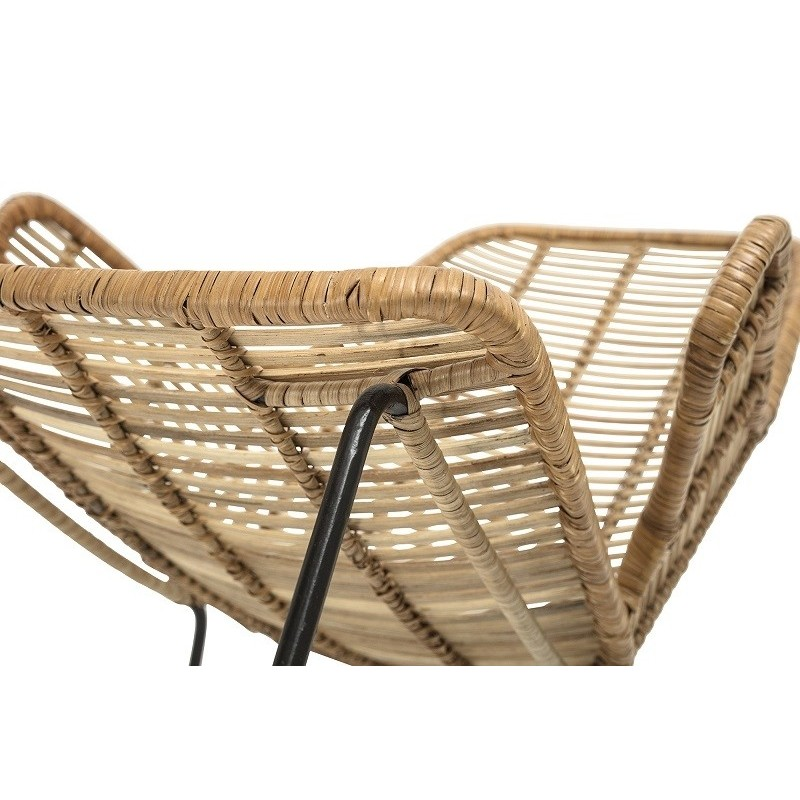 Bloomingville Lake Lounge Chair Nature Rattan