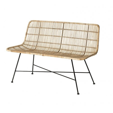 Bloomingville Dom Sofa in Nature Rattan