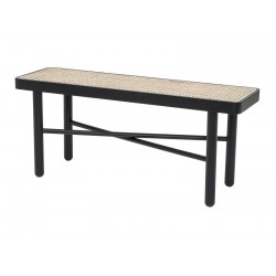 Bloomingville Luna Bench in Black Beech