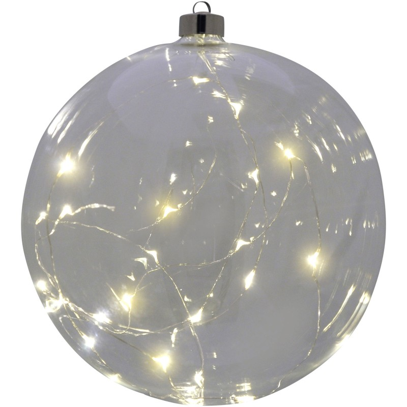 LED Large Clear Hanging Ball