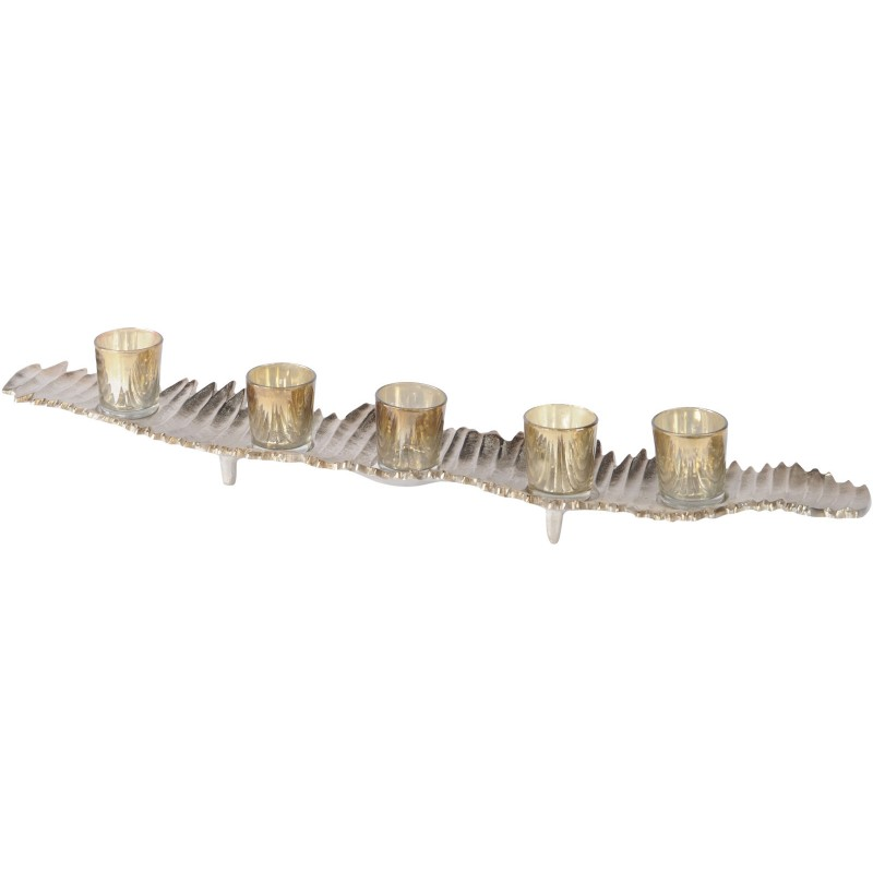 Champagne 5 Tealight Holder