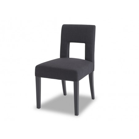Liang & Eimil Venice Dining Chair Black Linen