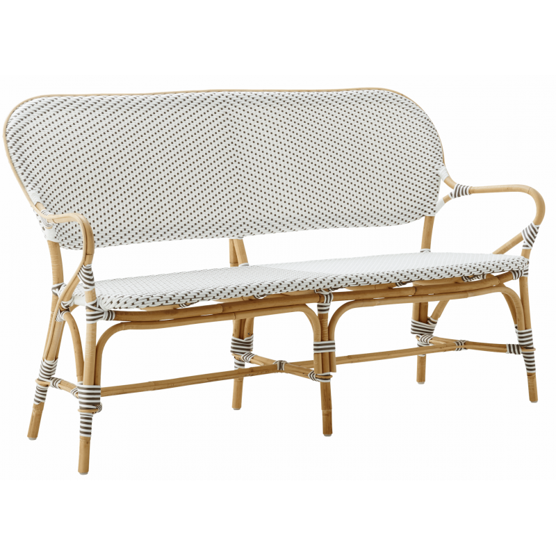 Sika Design Isabell Rattan Bench