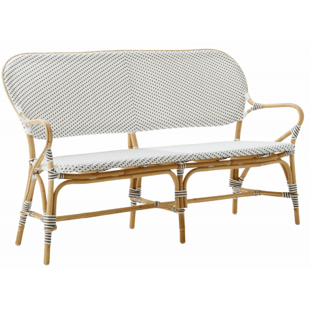 Sika Isabell Rattan Bench