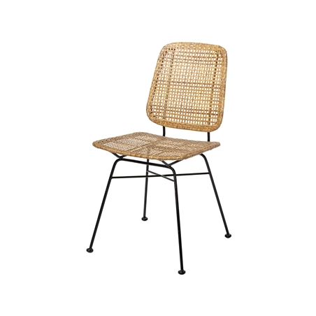 Bloomingville Laurel Dining Chair Natural Rattan
