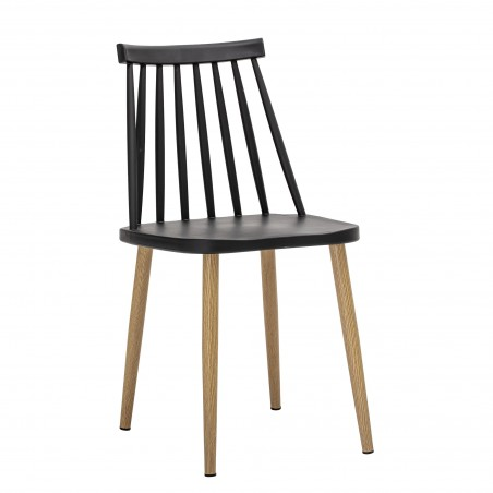 Bloomingville Bajo Outdoor Dining Chair Black