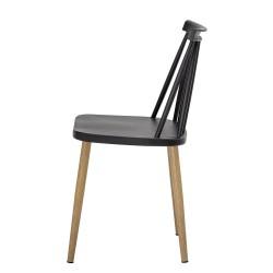 Bloomingville Bajo Outdoor Dining Chair Black