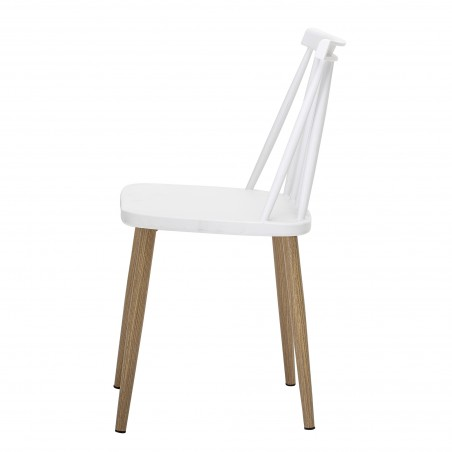 Bloomingville Bajo Outdoor Dining Chair White