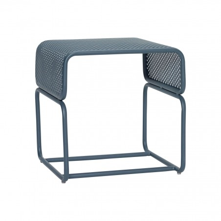 Hubsch Outdoor Side Table Green Metal