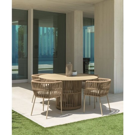 Talenti Cliff Outdoor Dining Table