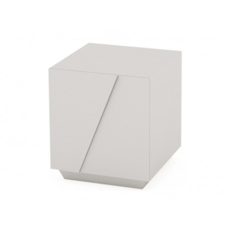 Glacier High Gloss White Lacquer Cabinet