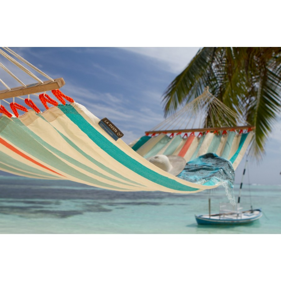 Colada Hammock Double with Spreader - Curacao