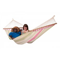 Colada Hammock Double with Spreader - Kiwi