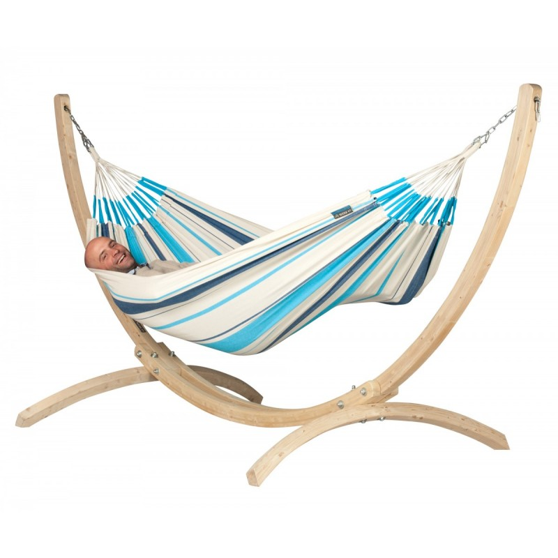 Caribena Aqua Blue Single Hammock