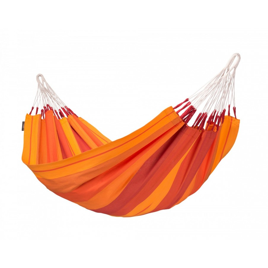 La Siesta Orquidea Pure Cotton Single Hammock - Volcano
