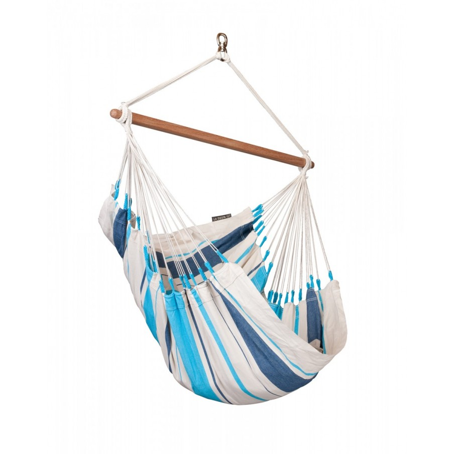 Hammock Chair Basic CARIBEÑA - Aqua Blue