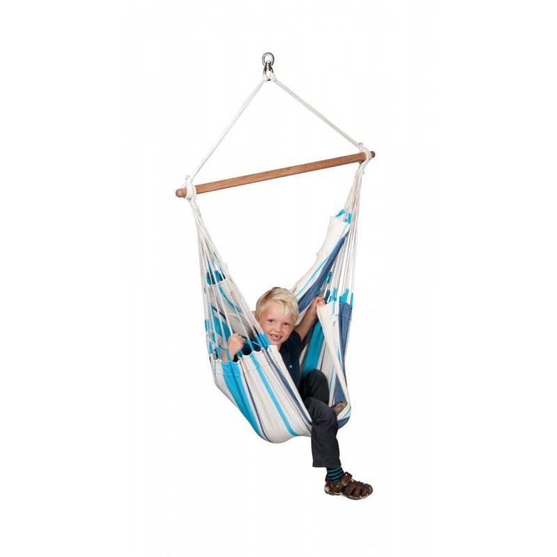 Hammock Chair Basic CARIBEÑA aqua blue