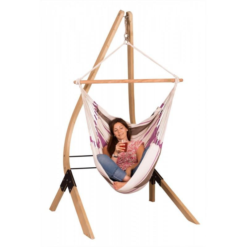Hammock Chair Basic CARIBEÑA purple