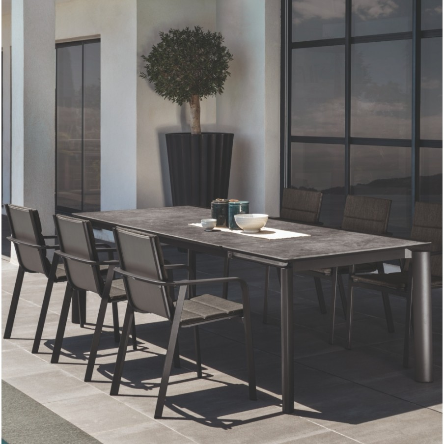 Talenti Milo Extending Dining Table Ceramic Top