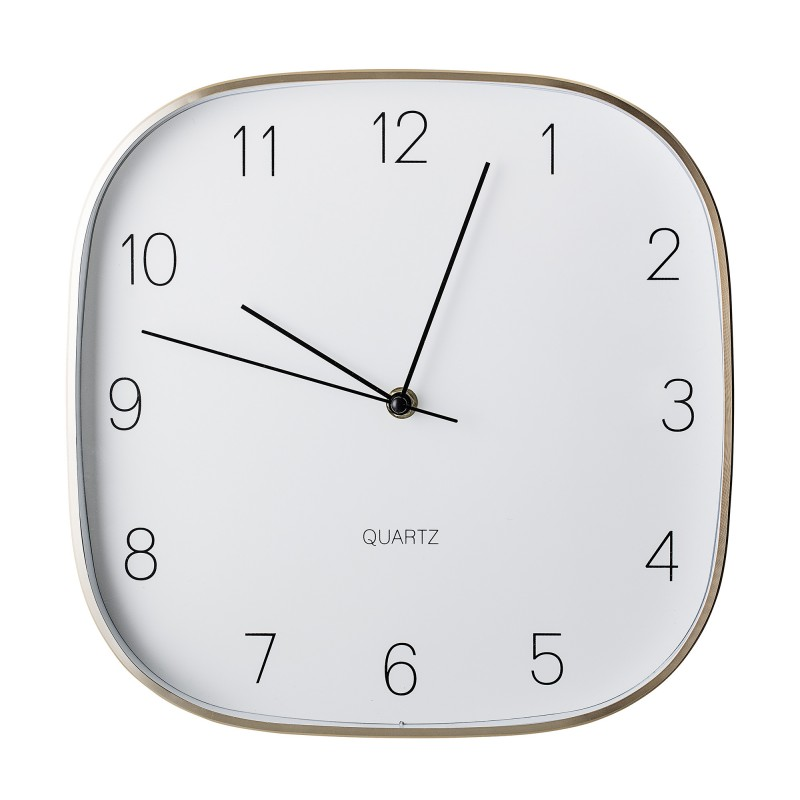 Bloomingville Gold Aluminum Wall Clock