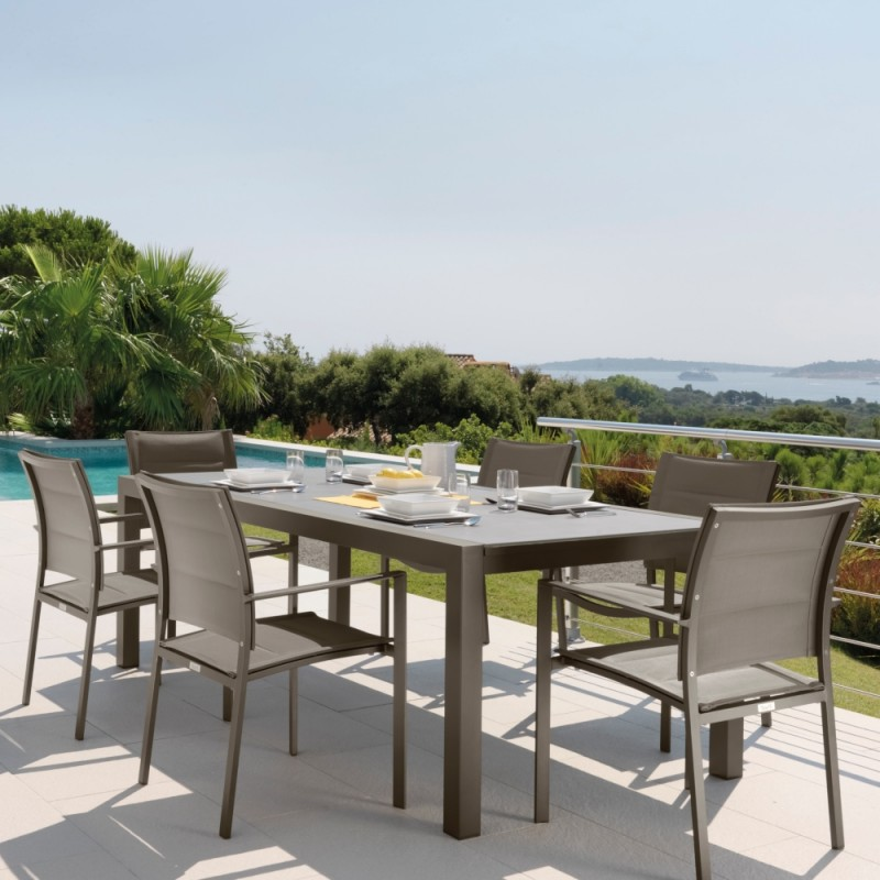 Talenti Touch Extending Outdoor Table 152 225 Cm