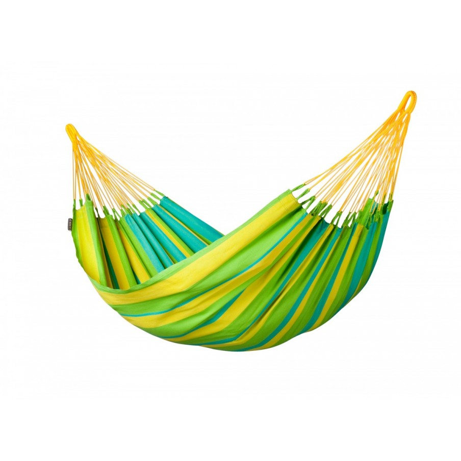 La Siesta Sonrisa Single Hammock - Lime