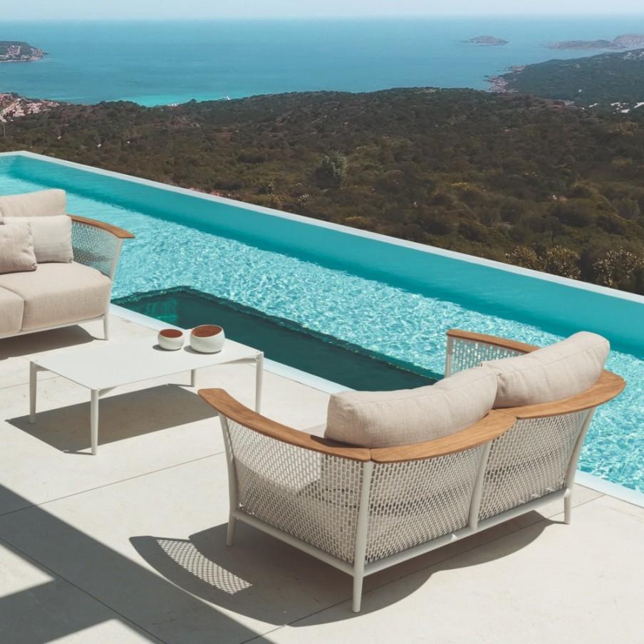 Talenti Pascal Outdoor Sofa | 2 Seater