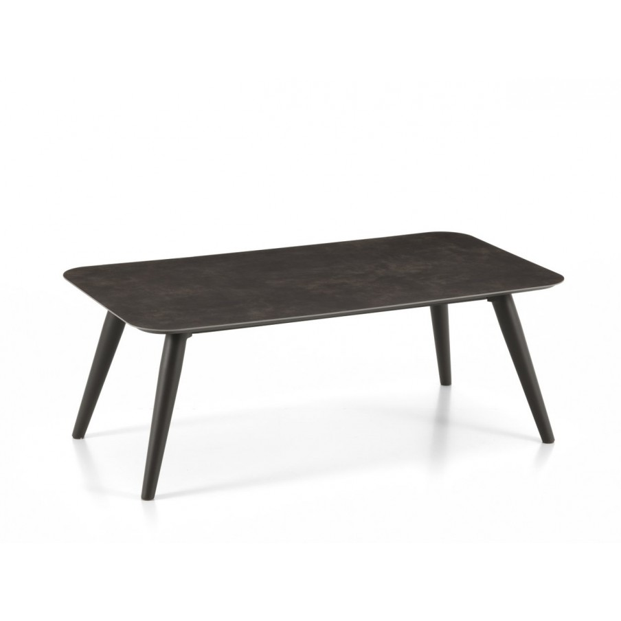 Talenti Moon Aluminium Rectangular Coffee Table