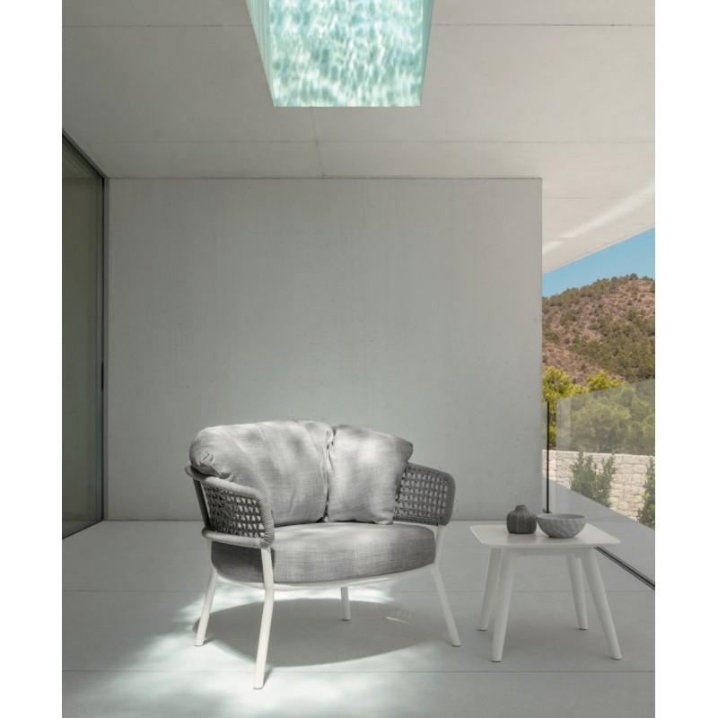 Talenti Moon Aluminium Square Coffee Table